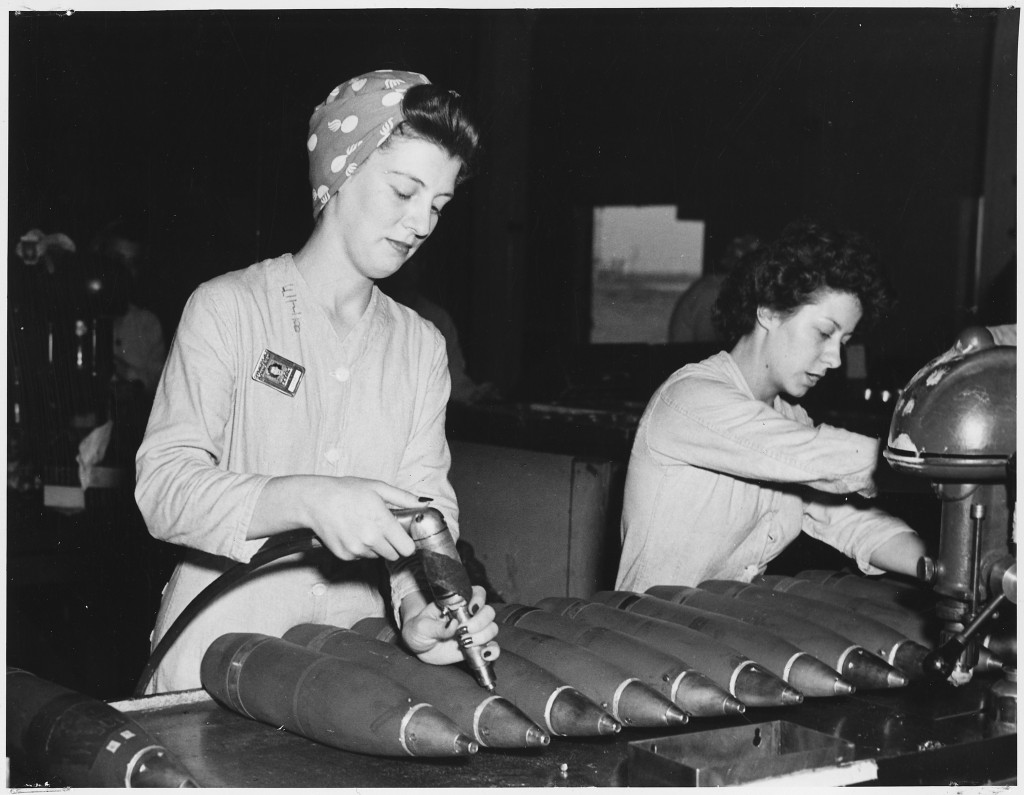 womens labor during wwii