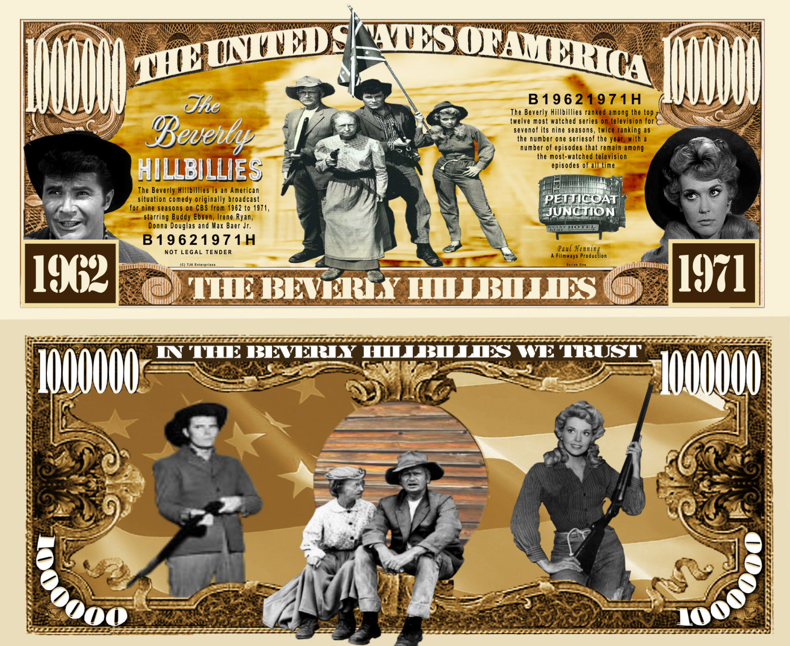 Beverly-Hillbillies-Million-Dollar-Bill-Collectible-Funny-Money