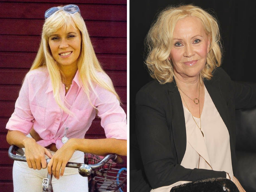 Stars From The 70s Then Now Tomorrowoman